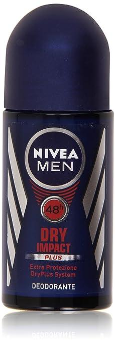 5 opinioni per Nivea Men Dry Impact Plus Deodorante Extra Protezione- 50 ml