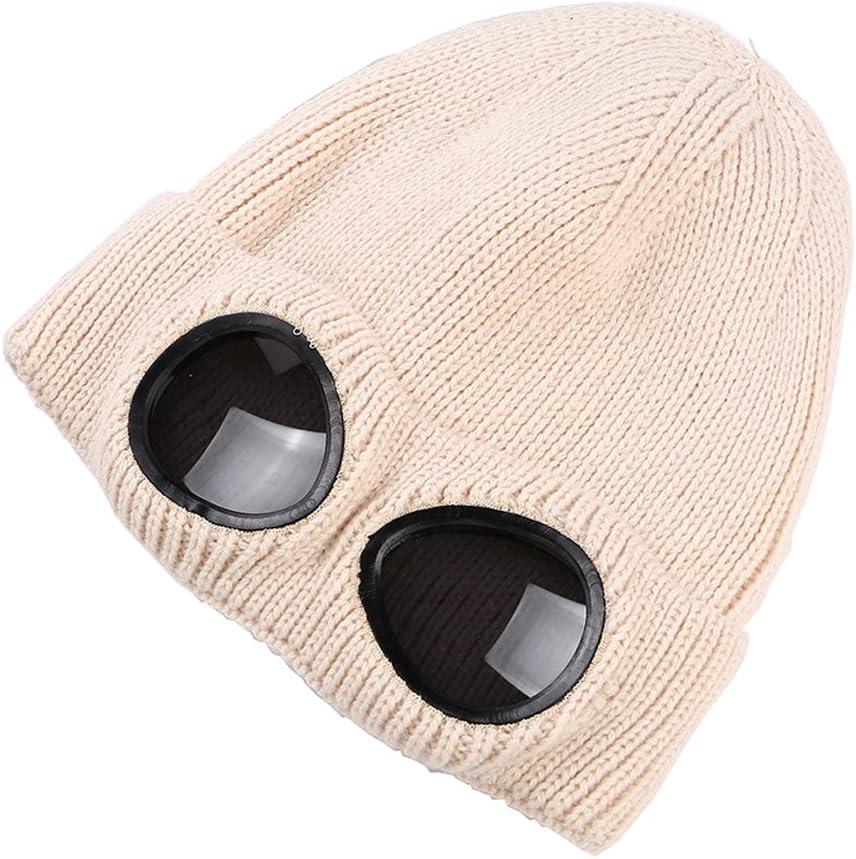 MansWill Bonnet Tricot/é Unisexe Chapeau dhiver Chaud /él/égant Casquettes de Sport dautomne Bonnet Protecteur Indoor Outdoor Gym Unisex Hat Cap Beanie Femmes Temp/érature Froide Fashion Warm Gardien