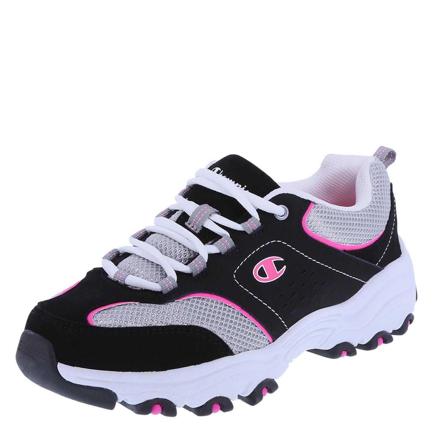 Champion Women's Margaret Runner B01LXGT5FC 6.5 C/D US Black Pink