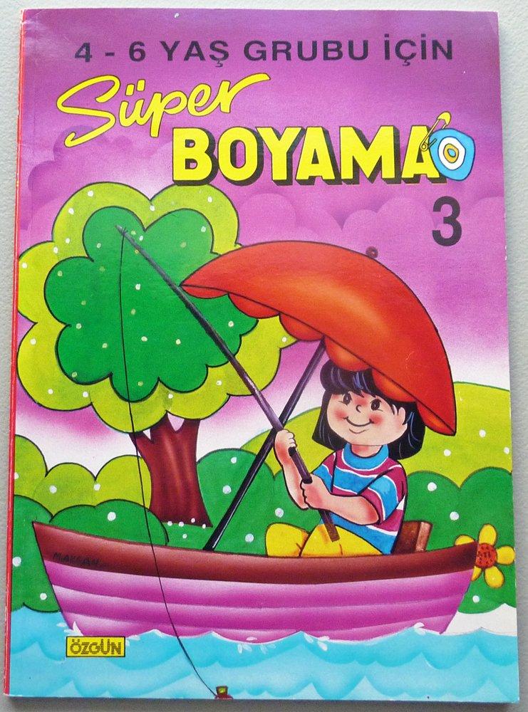 Super Boyama 3 4 6 Yas Grubu Icin Jeanne Stauffer Bilim Ve