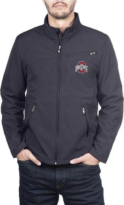 The Ohio State University Full Zip Gameday Pullover//Black