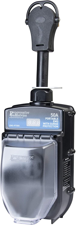 Progressive Industries Portable RV Surge Protector (EMS-PT50X)