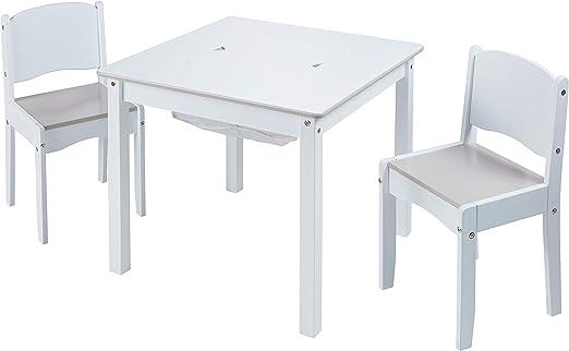 Juego de Mesa Infantil y 2 sillas para Manualidades: Amazon.es: Hogar