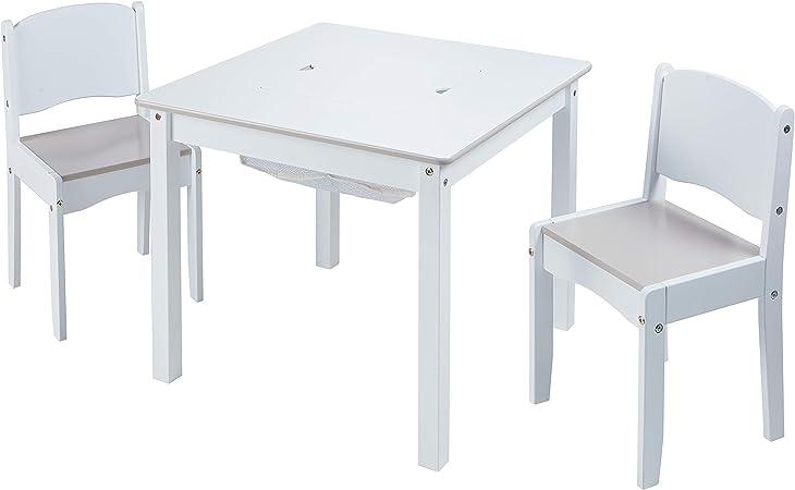 Juego de Mesa Infantil y 2 sillas para Manualidades: Amazon.es ...