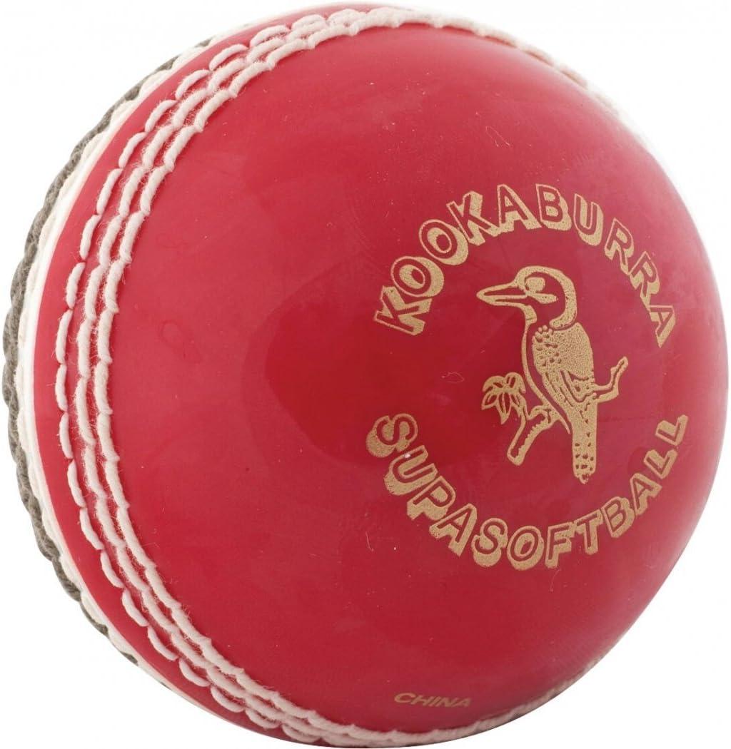 White Kookaburra Super Soft Cricket Ball