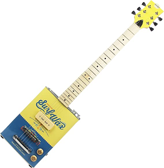 Bohemian bg-15-sw-6 Guitarra Eléctrica con body de metal: Amazon ...