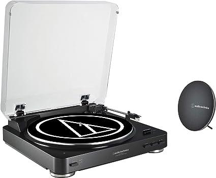 Amazon.com: Audio Technica AT-LP60SPBT-BK - Mesa giratoria ...