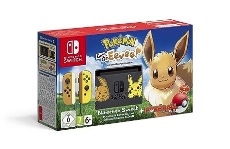 Nintendo Switch Pokemon Let S Go Evoli Bundle Amazon De Games