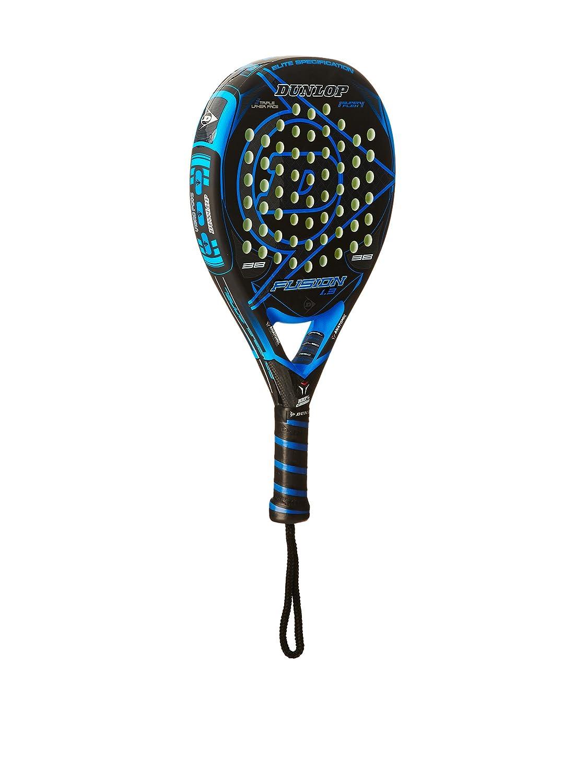 Dunlop Pala Pádel Fusion 1.3 Negro/Azul Única: Amazon.es: Deportes y aire libre