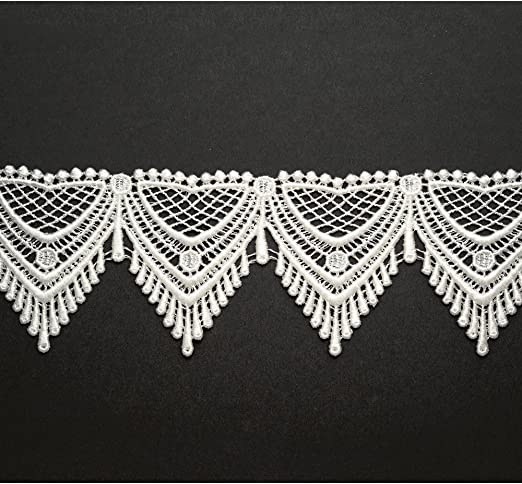 selling by the yard Black  Venise Lace Trim with beautiful design
