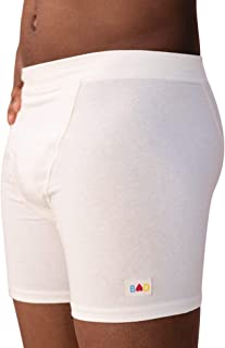 product image for Organic Boxer Briefs Made in The USA from Hypoallergenic Hemp & Cotton