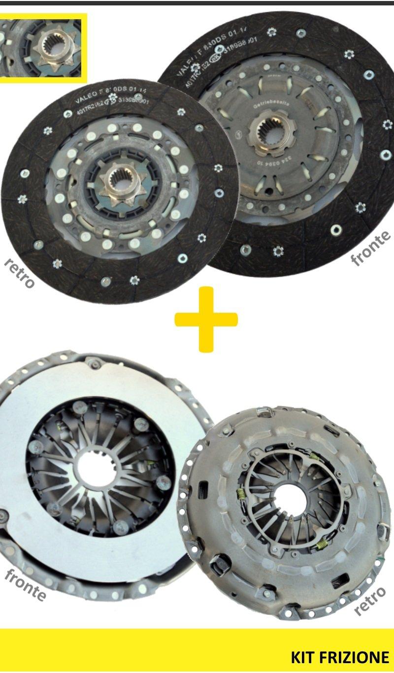kit de Embrague 4pz FIAT GRANDE PUNTO 1,9 MTJ 88/96KW 415024110 624322009 510010410: Amazon.es: Coche y moto