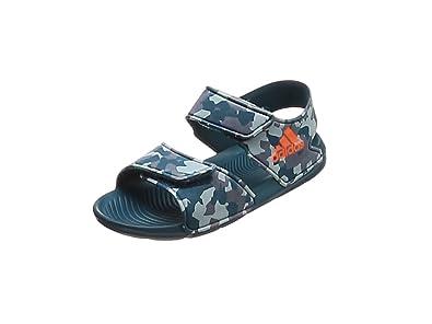 adidas Altaswim, Chaussures de Plage et Piscine Mixte Enfant, Bleu (Reatea/Hireor/Ashgre Reatea/Hireor/Ashgre), 30 EU