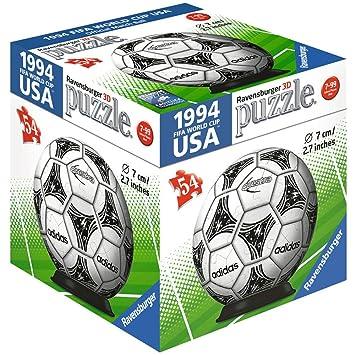 dca6a153bd891 Ravensburger 11937 3d Puzzle de pelota Match Balón de fútbol FIFA - 1 según  disponibilidad  Amazon.es  Juguetes y juegos