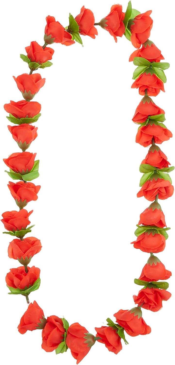 40-Inch The Beistle Company Beistle 57400 12-Pack Rose Lei Party Decor