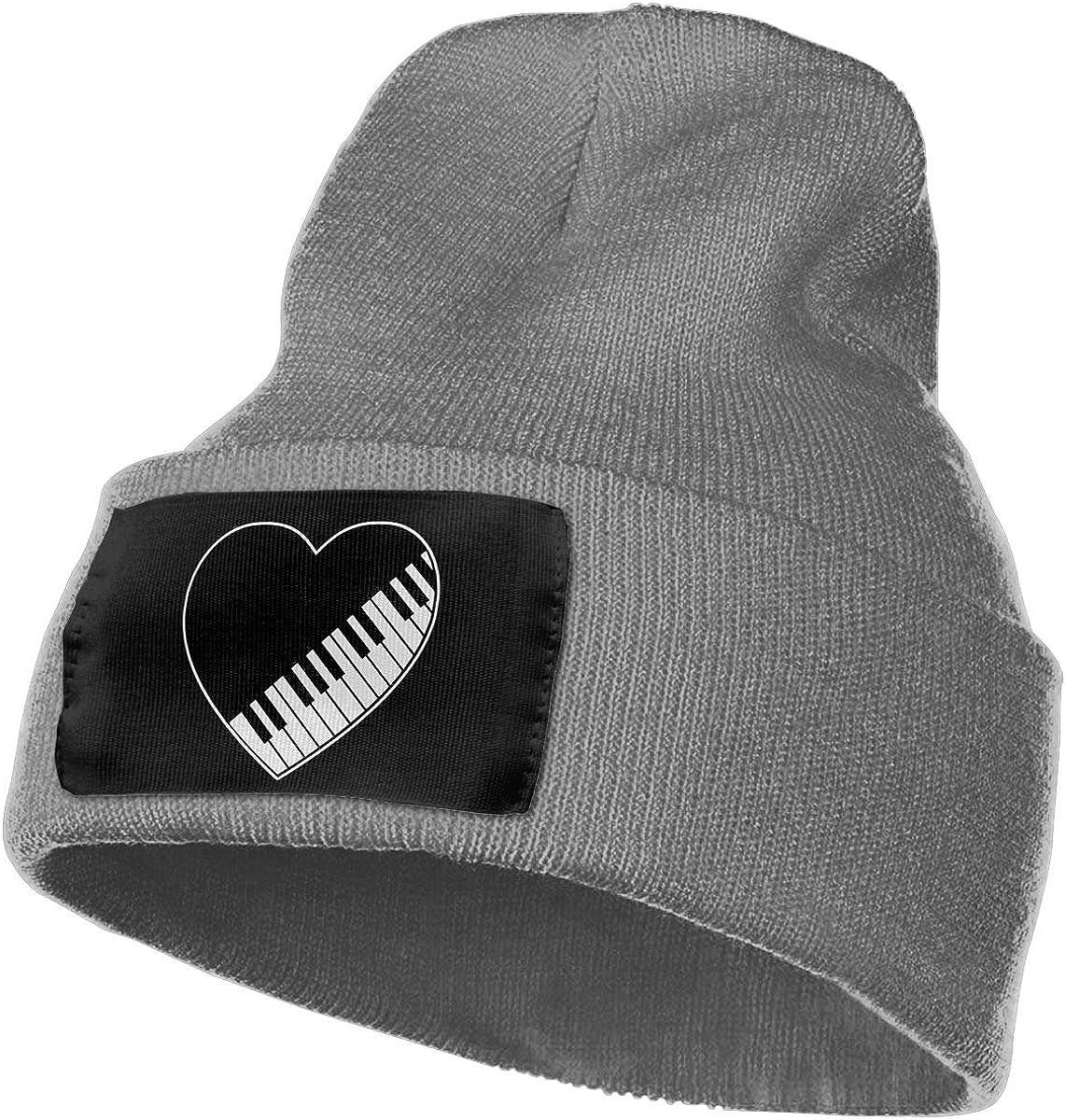 Piano Keys Heart Warm Ski Cap WHOO93@Y Mens Womens 100/% Acrylic Knit Hat Cap