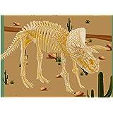 Rompecabezas Juguete Niños Nuevo Dinosaurio Arqueológico Simulación Fósil Jurassic King Esqueleto Dragón Excavación Versión D