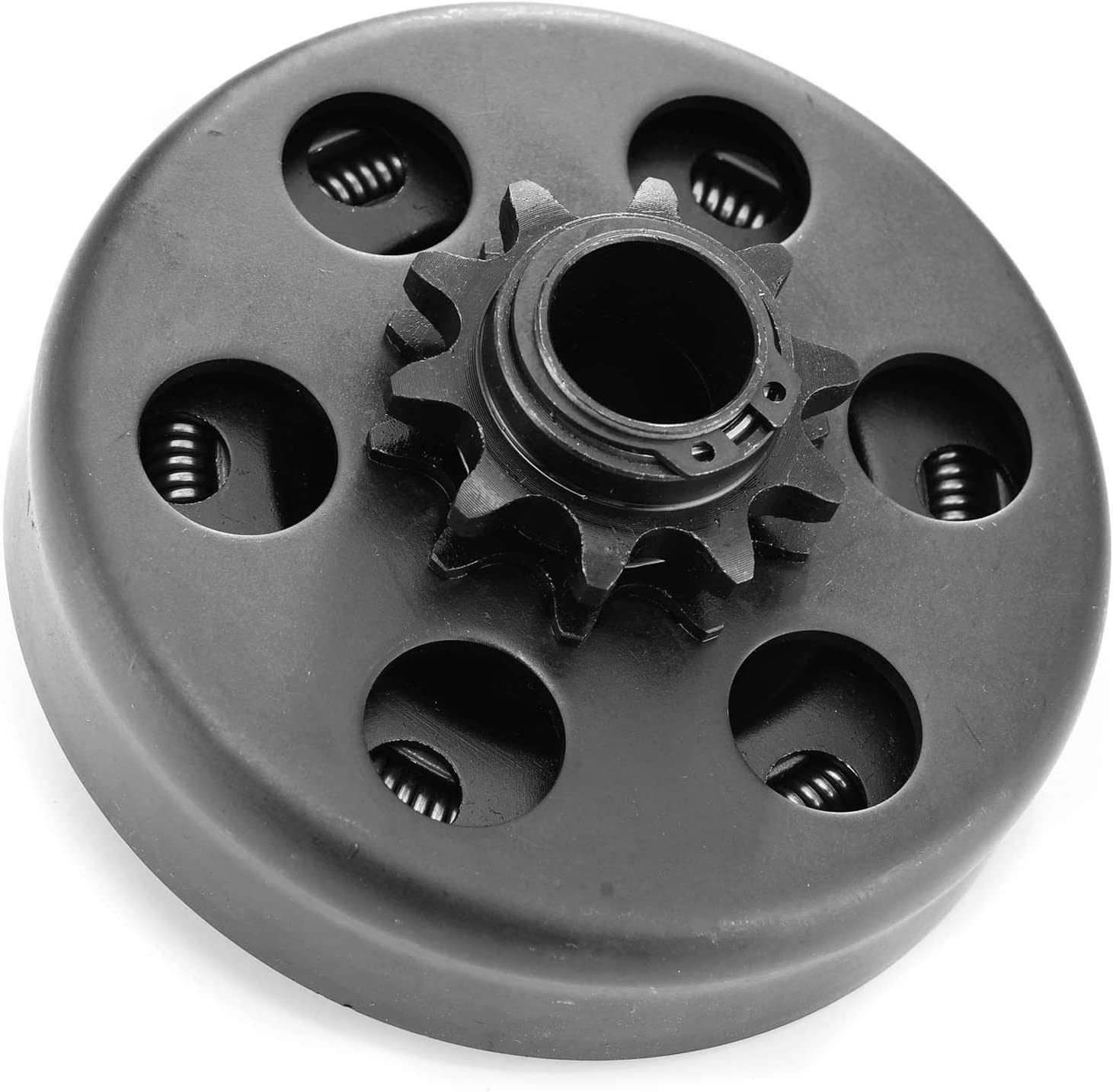 Centrifugal Clutch, Go Kart Clutch 3/4 Bore 10T for #40/41/420 Chain,Up to 6.5 HP, Perfect for Go Kart, Minibike and Fun Kart Engine 3/4 Bar