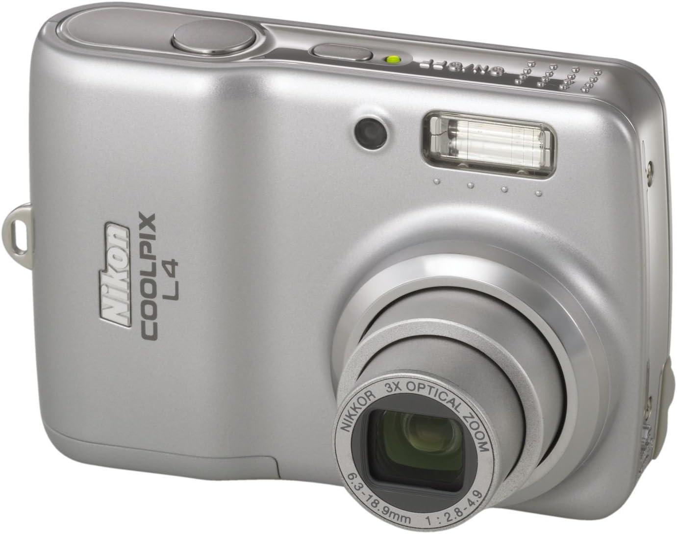 Nikon Coolpix L4 Digitalkamera 4 Megapixel