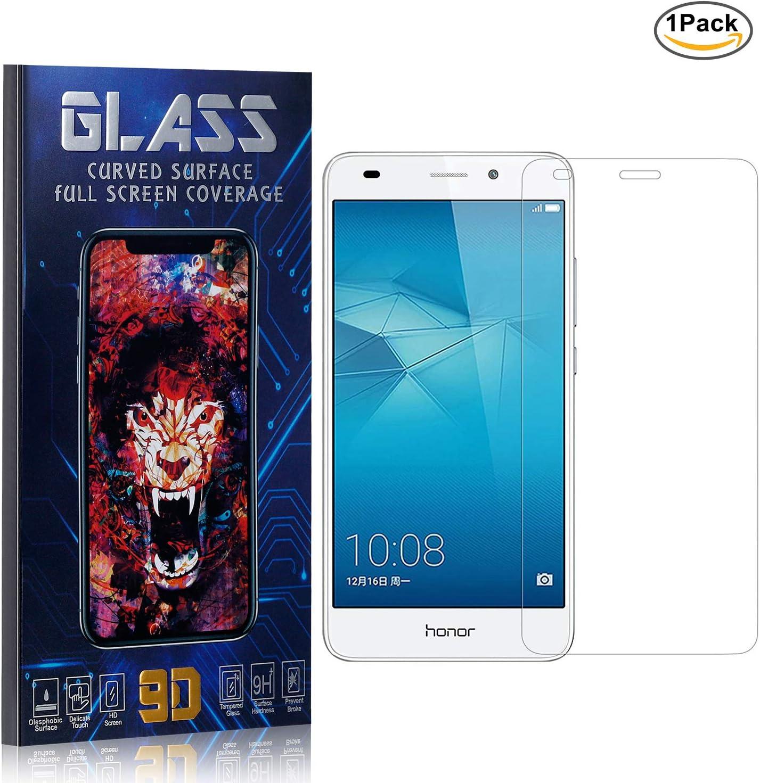 Huawei Honor 5C Protector Pantalla, HD Claro Cristal Templado ...