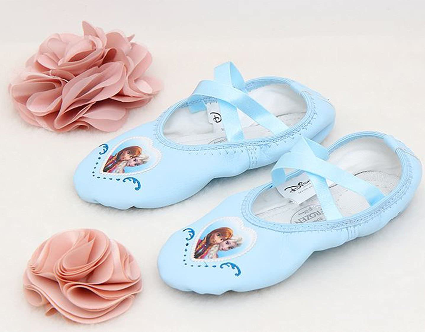 8 M US Toddler, Classic Joah Store Girls Blue Ballet Flat Dance Shoes Runs Small Parallel Import//Generic Product