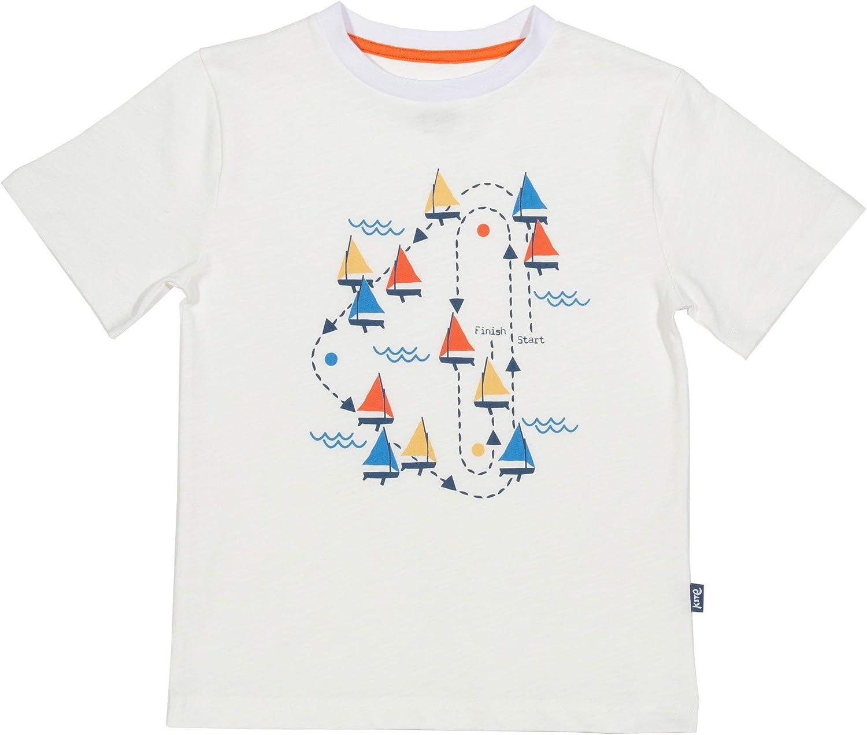 Navy 0-5 Years Kite Boys Sailing Top Organic