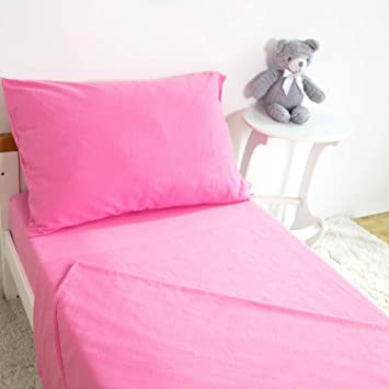Amazoncom Tillyou 3 Piece Cotton Flannel Toddler Sheet Set Fitted