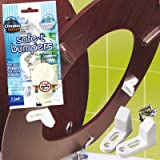Toilet Seat Stoppers Stabilise Loose Toilet Seats Sturdy