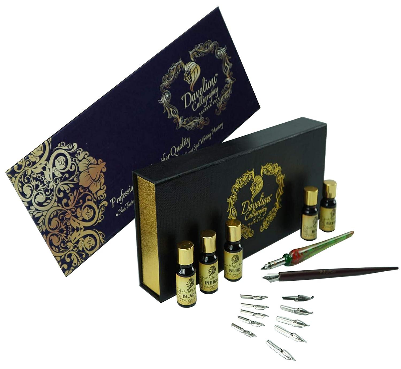 Set de 12 piezas para pluma caligráfica, Daveliou (xmp)