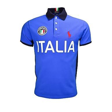 31a72c943e016f Polo Ralph Lauren Italie JO 2016 bleu pour homme  Amazon.fr ...