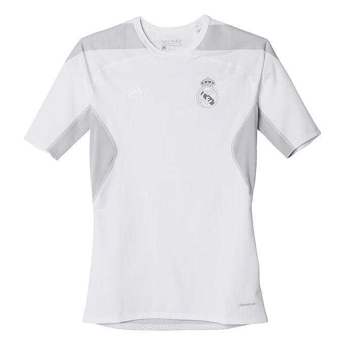 adidas Real Madrid Club de Futbol - Camiseta Oficial: Amazon.es ...