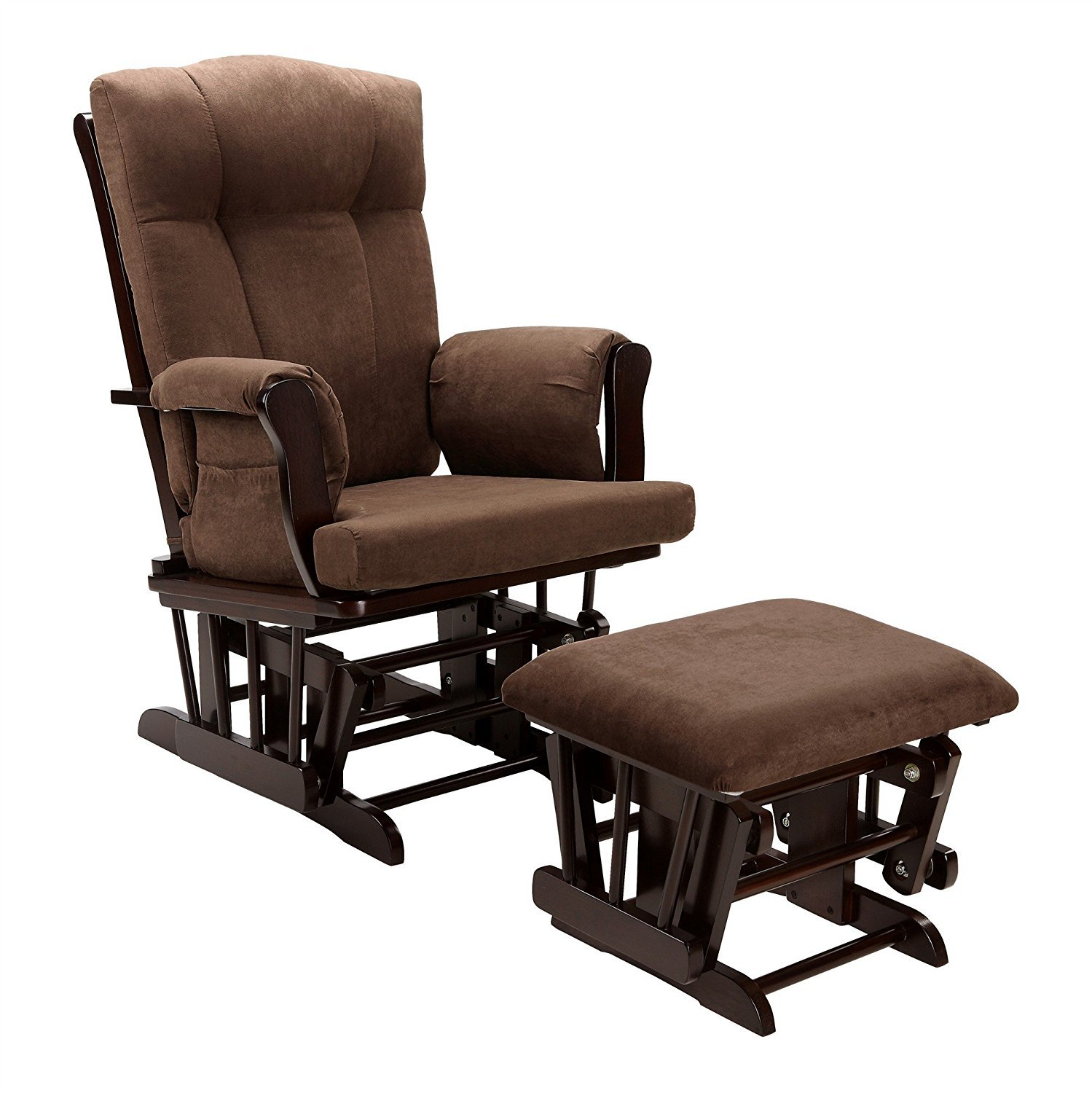 Baby Relax Glider and Ottoman, Espresso by Baby Relax