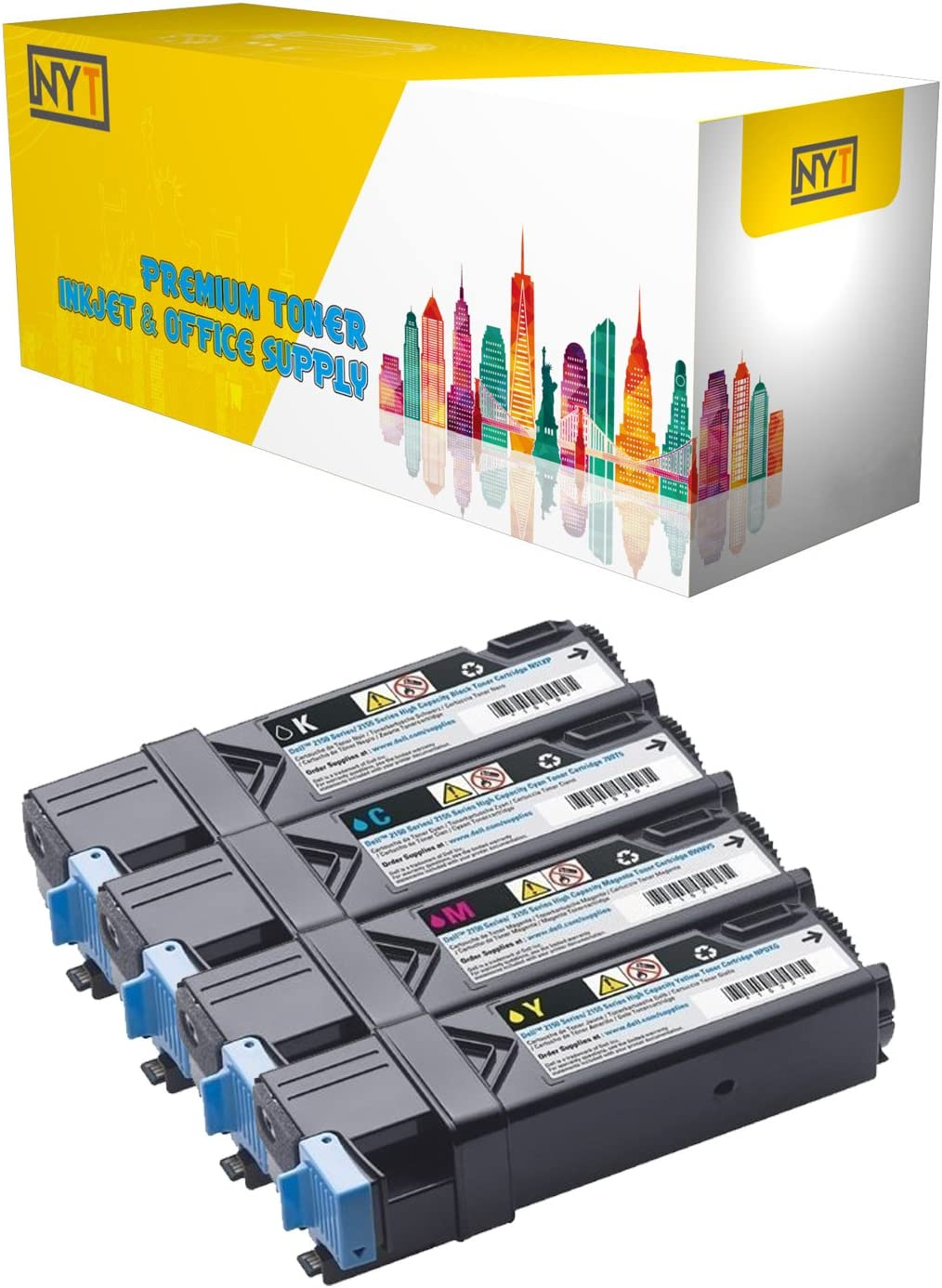 2135 330-1392 Works with: 2130 Ink /& Toner USA Compatible Toner Replacement for Dell 330-1433 Magenta