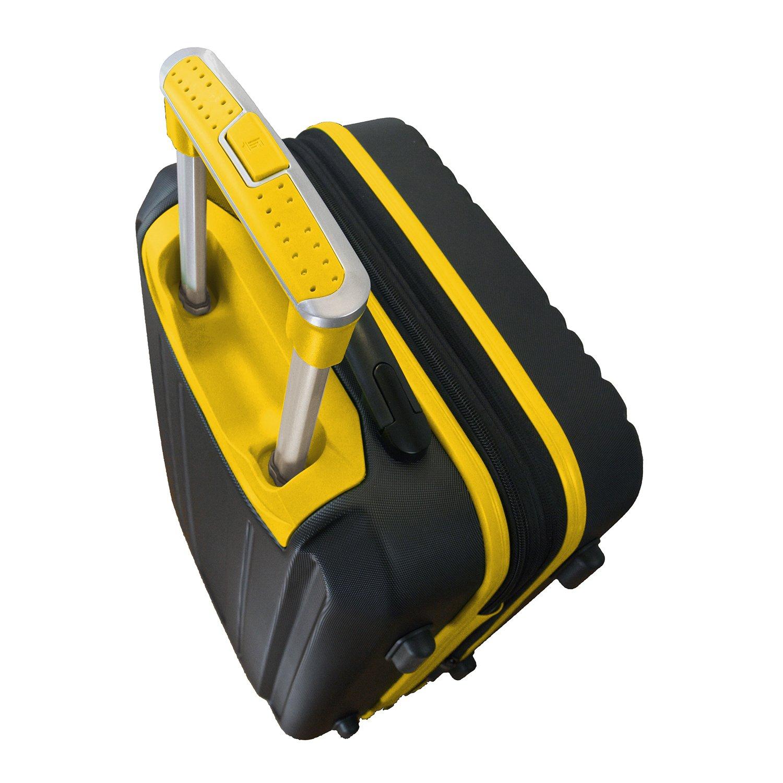 NCAA East Carolina Pirates 2-Piece Luggage Set by Denco (Image #5)