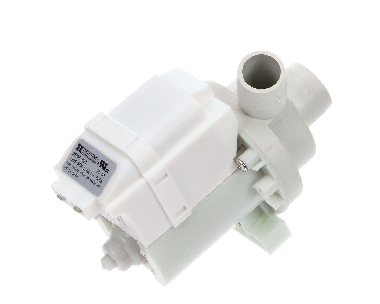 Champion Moyer Diebel 0512227 Drain Pump for Compatible Champion Moyer Diebel Dishwashers, 115V