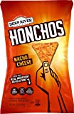 HONCHOS Tortilla Chips, Nacho Cheese, 1.5 Ounce(pack of 12)
