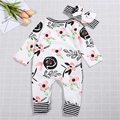 Baby Girl Long Sleeve Jumpsuit Autism Acceptance Moms Best Piece Baby Rompers