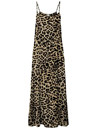 003f03c307952e VERO MODA vmNewmaker Maxi String Dress Schwarz (SnowWhite) XS ...
