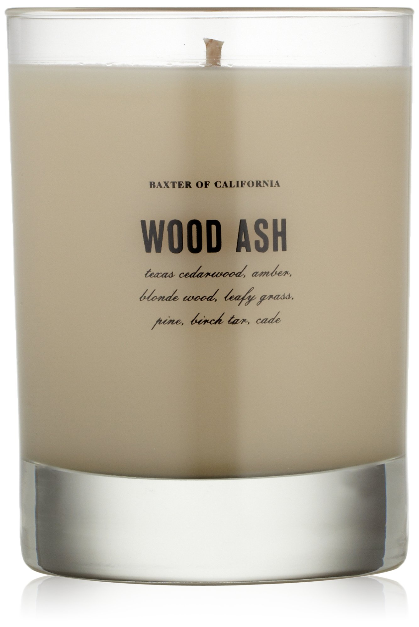 Baxter of California Scented Candle, Wood Ash by Baxter of California