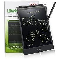 NEWYES NYWT850 - 8,5 pulgadas, tableta gráfica portátil, pizarra blanca resistente, tableta de dibujo adecuada para el hogar, escuela, oficina, bloc de notas, 1 año de garantía (negra)