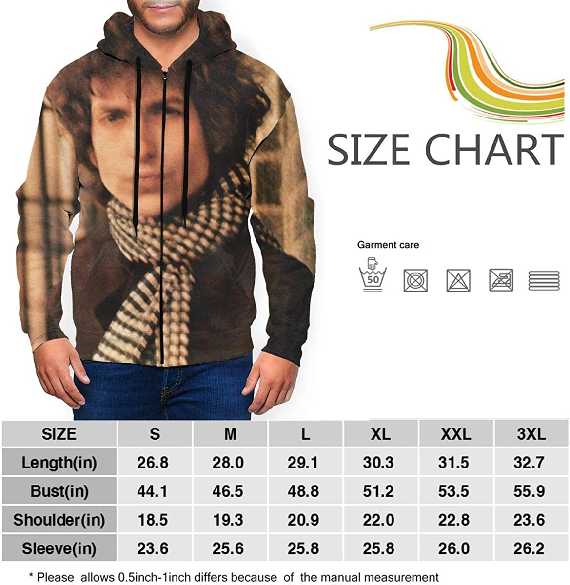 CHASIHAO Placebo Mens Hoodie
