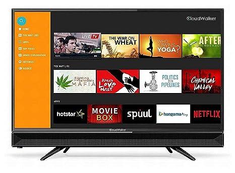 6e39db3ed8b CloudWalker 80 cm 4K Ready Smart HD Ready LED TV  Amazon.in  Electronics