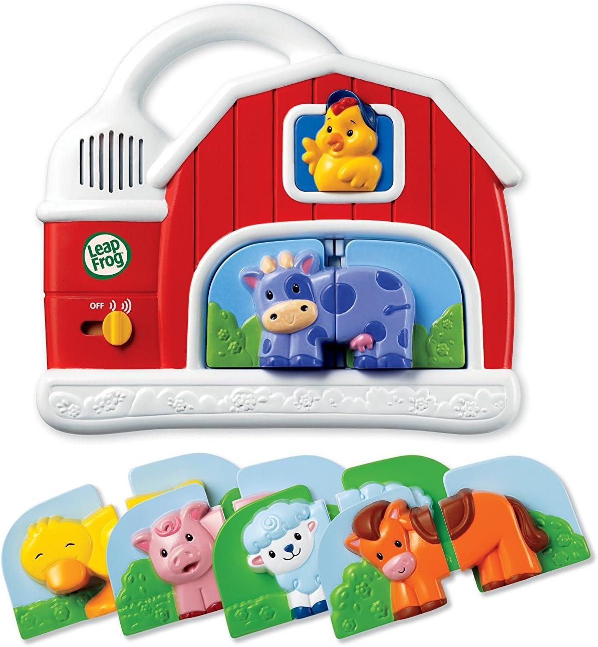 Quality value Fridge Farm Magnetic Animal Set By Leapfrog Enterprises