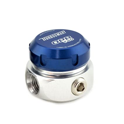 Amazon.com: TurboSmart T40 Turbo Oil Pressure Regulator 40 PSI (BLUE): Automotive