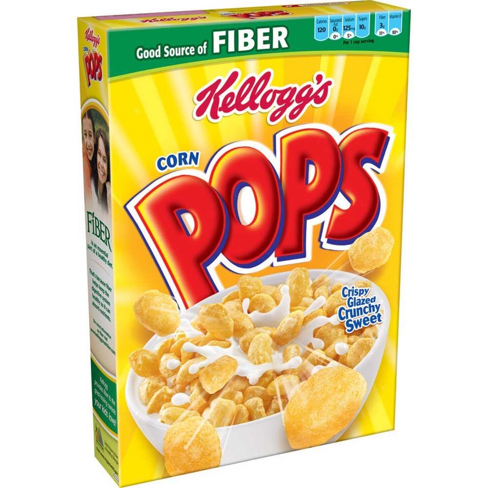 Kelloggs Corn Pops Cereal, 12.5 Ounce -- 16 per case.