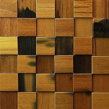 decorative wood wall tiles. Art3d Old Ship Wood Handcrafted Wall Art Decorative Tiles, 12\u0026quot; Tiles M