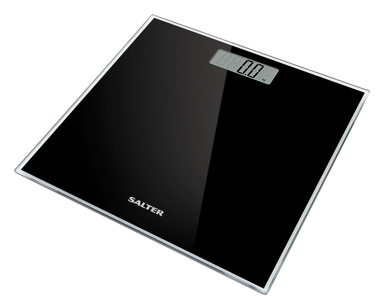 Salter 9037 TL3R Bilancia Pesapersone Digitale in Vetro, Azzurro