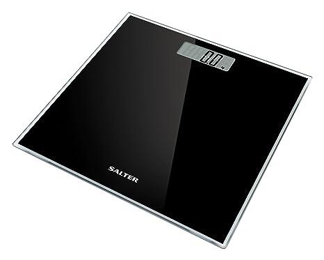 Báscula de baño digital en vidrio, 180Kg, Negro