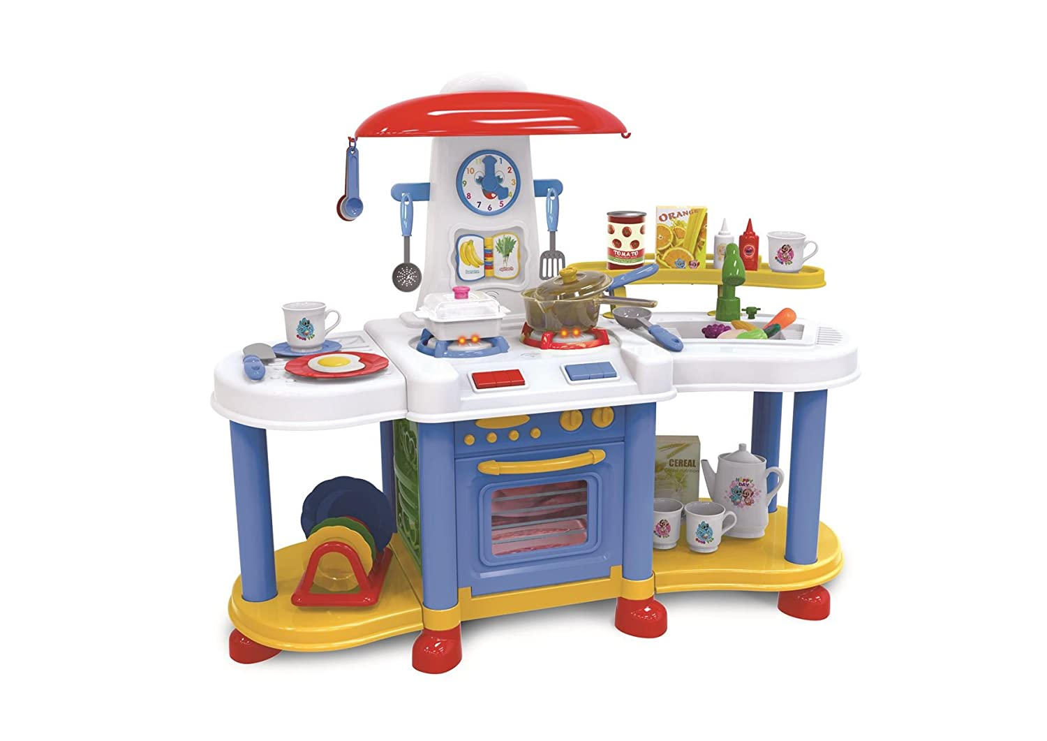 Vinsani Blue Little Kitchen Food Cooking Gas Oven Appliances Toy ...