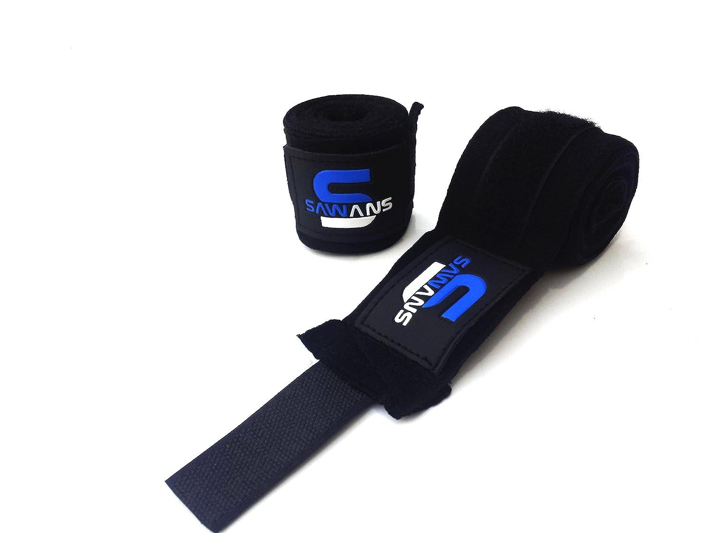 SAWANS Power Handbandage Innere Handschuhe Bandagen MMA Boxen Muay Thai mexikanischen Stretch 3,5/Meter